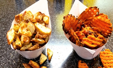Fries and Ice Cream at 3 Potato 4 (Up to 46% Off)