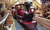 Camden Children's Garden - Cooper Grant: Train Celebration and Rides for Four or Six at Camden Children's Garden on November 14 or 15 (Up to 47% Off)