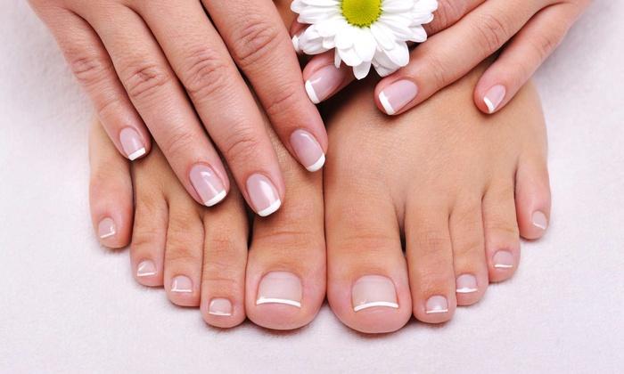 Nu Nail - Westbrook: Three Laser Nail-Fungus-Removal Sessions for Up to 5 or 10 Toes at Nu Nail (Up to 34% Off)