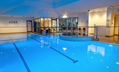 image for Spa Access and Fizzy Afternoon Tea for Two at Doubletree Hilton Hotel Coventry (50% Off)