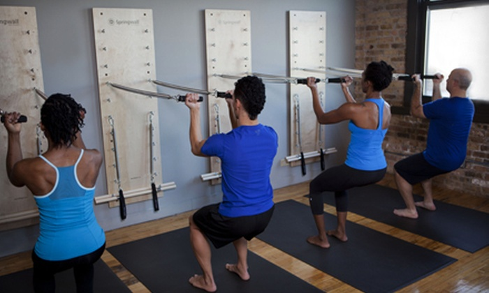 oneBody - Chicago: $59 for Five Group Pilates Spring-Wall Classes at oneBody ($200 Value)