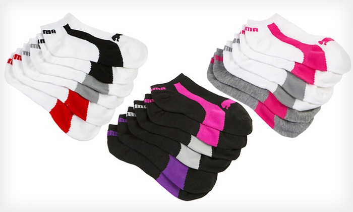 Puma No-Show Athletic Socks for Women: $14 for Nine Pairs of Puma No-Show Athletic Socks for Women ($36 List Price). Free Shipping.