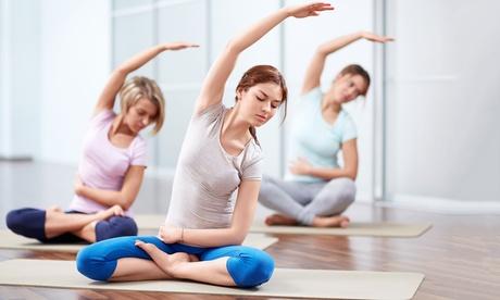 3 o 6 meses de clases de yoga para adultos y niños o de pilates para adultos desde 49,90 € en P.Azul & Vía Sana