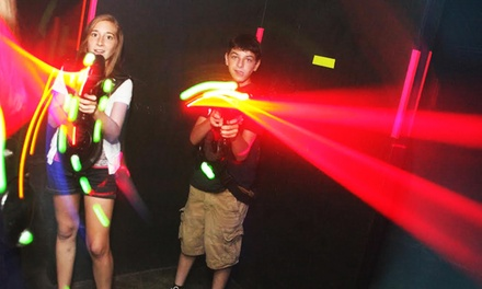 $16 for Two Laser-Tag Games and One Laser-Maze Round for Two at Laser Web Dayton ($34 Value)