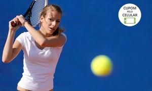 Daher Tennis Lounge: Daher Tennis Lounge – Urbanova: 1 ou 3 meses de aula de tênis 1x por semana
