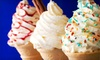 Brando's Ice Cream Parlour - Lancaster: Ice Cream and Frozen Treats at Brando's Pizza & Ice Cream Stand (Half Off). Two Options Available.