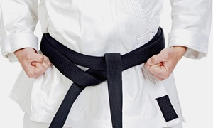 The Karate Academy Of Bethpage: Four or Six Weeks of Kids' Karate Classes at The Karate Academy of Bethpage (Up to 78% Off)