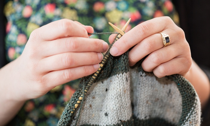 Arizona Yarn & Fiber - Arizona Yarn & Fiber: $18 for a Three-Hour Learn to Knit Class at Arizona Yarn & Fiber ($35 Value)