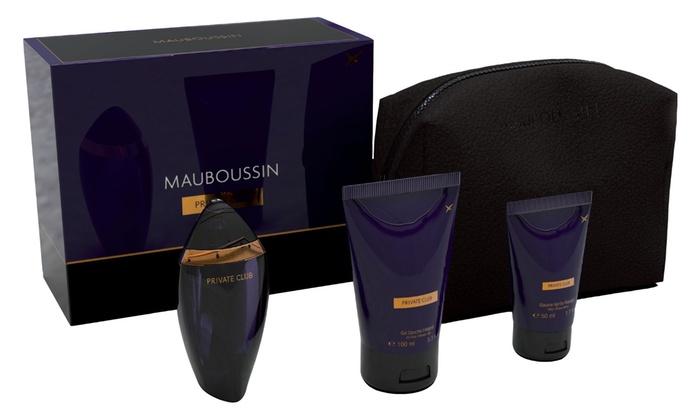 Coffret eau de parfum Private Club de Mauboussin 100ml pour homme