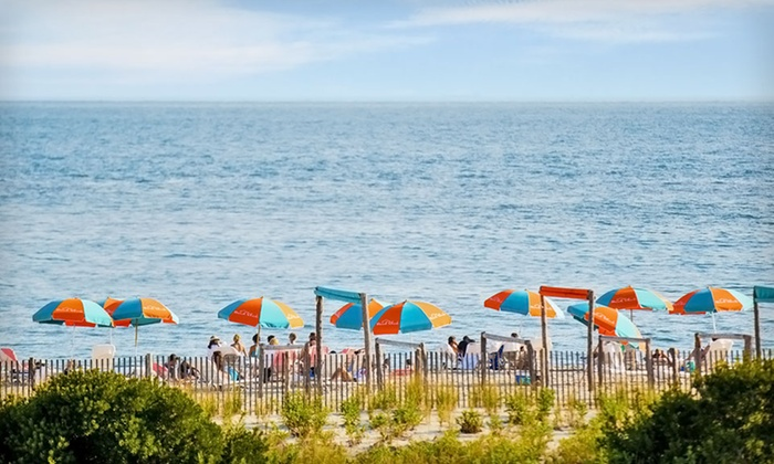 The Beach Shack - Central Jersey: Stay for Two with Cocktails, Coffee, Beach Gear, Parking, and WiFi at The Beach Shack in Cape May, NJ