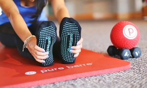 Pure Barre: One or Two Weeks of Unlimited Barre Classes at Pure Barre (Up to 65% Off)