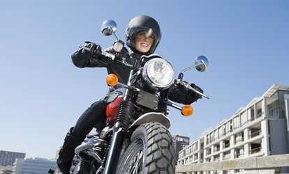 image for CBT Motorcycle or Scooter Course with Phoenix Motorcycle Training (45% Off)