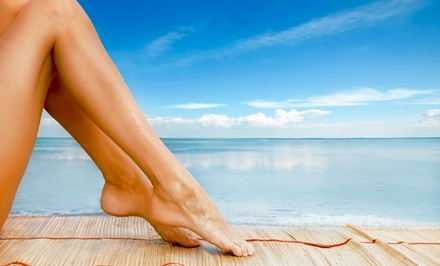 One or Two Groupons, Each Good for an Organic Airbrush Tan at Splash of Sun Airbrush Tanning (Up to 56% Off)