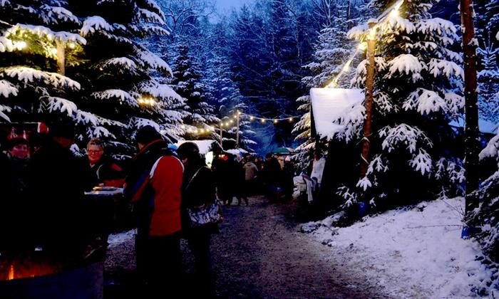 bergischer weihnachtsmarkt im wald in overath nrw groupon. Black Bedroom Furniture Sets. Home Design Ideas