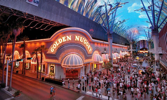 Golden Nugget Hotel - Las Vegas: Stay with Spa Passes, Nightclub Passes, and Show Tickets at Golden Nugget Hotel in Las Vegas