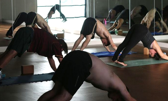 Modo Yoga Columbus - Grandview South: One or Two Months of Hot Yoga Classes at Modo Yoga Columbus (Up to 77% Off)