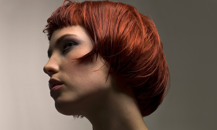 Genesis Salon - Genesis Salon: Haircut and Coloring Packages at Genesis Salon (Up to 58% Off). Four Options Available.
