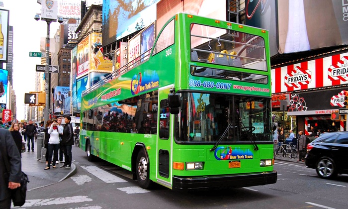 Your licensed New York Tour Guide will escort you to the top attractions in NYC. Unlike our competitors, your OnBoard Tour Guide will hop off with you at each attraction, showing you New York City in detail. This tour does not include a boat cruise, but it shows you the highlights from our NY See It All! Tour, in a shorter tour format.