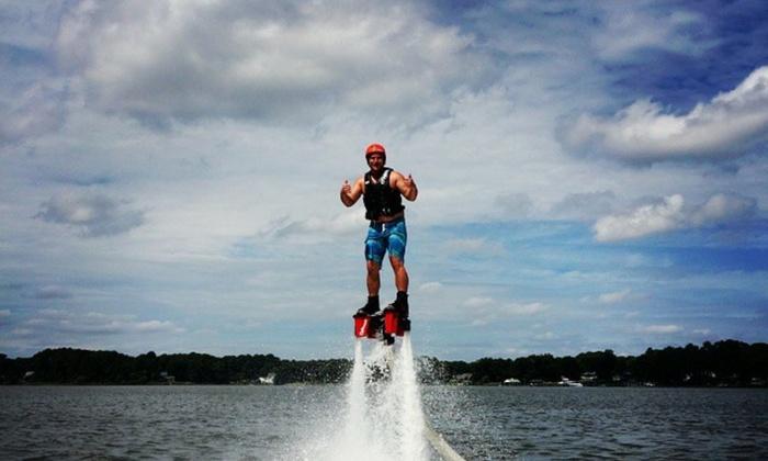 Freestyle Aquatix - Freestyle Aquatix Flyboarding: Up to 42% Off Flyboarding at Freestyle Aquatix