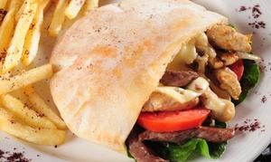 Mediterranean Grill: Mediterranean Cuisine at Mediterranean Grill (Up to 47% Off)