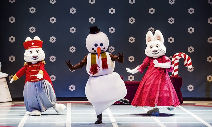 """Max & Ruby - Wellmont Theater: """"Max & Ruby in the Nutcracker Suite"""" at Wellmont Theater on Saturday, December 20, at 1 p.m. (Up to 47% Off)"""