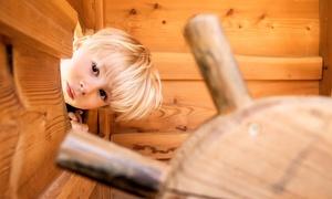 Spielzeugland Stockhausen: Familientag inkl. Eintritt für 4 Personen für die Spiel- und Erlebniswelt Stockhausen (55% sparen*)