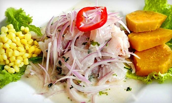 El Gran Inka - Multiple Locations: $25 for $50 Worth of Peruvian Cuisine and Drinks at El Gran Inka