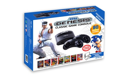 AtGames Sega Genesis Classic Console with 80 Built-In Games