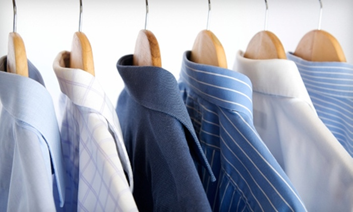 Liberty Cleaners - Cameron: Dry Cleaning at Liberty Cleaners in Coquitlam (Half Off). Two Options Available.