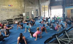 True Grit Fit: Four Weeks of Unlimited Boot-Camp Classes at True Grit Fit (70% Off)