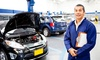 BOS VIP Ticketing - Multiple Locations: Oil Change, Mechanical Inspection and Diagnostic Package With Discounted MOT Tests for £17 at Driving Force (92% Off)