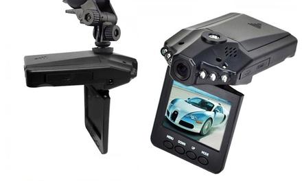 Caméra HD 720p de sécurité pour voiture avec lecture vidéo en temps réel et vision nocturne