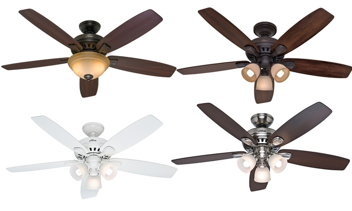 Hunter 52 Or 54 Ceiling Fan Groupon