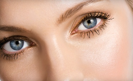 One Set of Eyelash Extensions with Optional One or Three Fills at Salon 45 (Up to 56% Off)