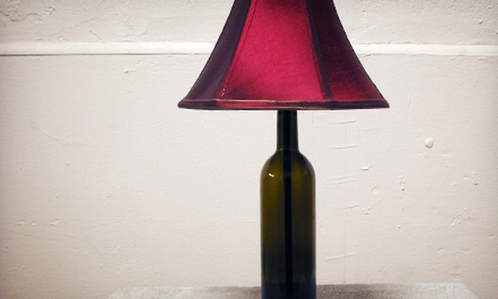 Gil Stancourt Lighting Studio - Mosswood: BYOB Lamp-Making Class for One or Two at Gil Stancourt Lighting Studio (Up to 60% Off)