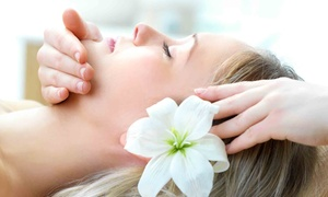 Hands-of-Faith Holistic Healing Centers: Massage or Anti-Gravity Face Massage, or Both at Hands-of-Faith Holistic Healing Centers (Up to 56% Off)