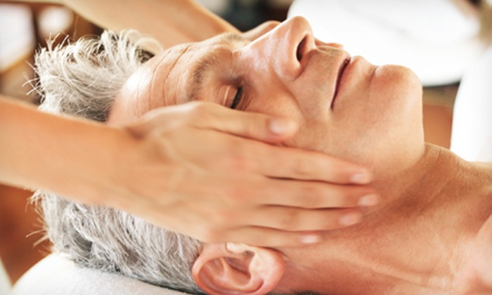 The Aesthetic & Anti-Aging Centers of Houston - South Main: One or Three Men's Facial Treatments at The Aesthetic & Anti-Aging Centers of Houston (Up to 53% Off)