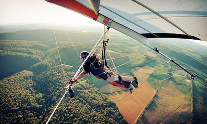 Maritime Hang Gliding Academy - Waterford: $99 for an Introductory Hang-Gliding Lesson from Maritime Hang Gliding Academy ($200 Value)