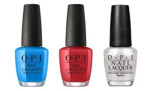 OPI Nail-Merica Red White & Blue Nail Polish Set (3-Piece)
