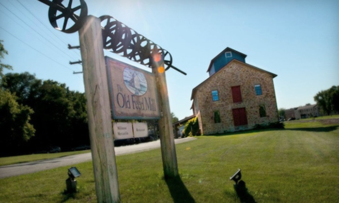 The Old Feed Mill - Mazomanie : $15 for $30 Worth of Country-Style Fare at The Old Feed Mill in Mazomanie