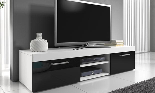 mambo meuble tv groupon. Black Bedroom Furniture Sets. Home Design Ideas