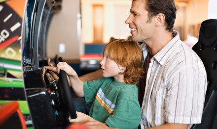 Tokens and Points at Bev & Wally's Family Fun Center and The Game Room (Up to 61% Off). 3 Options Available.