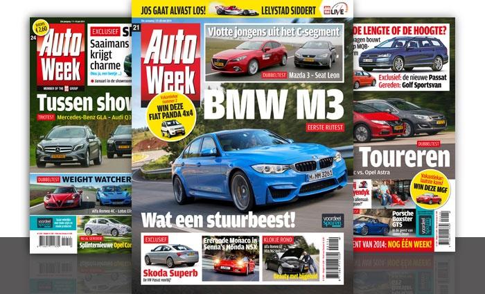 Abonnement autoweek sanoma media netherlands bv groupon for Sanoma abonnement