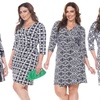 Women's Mariah Plus Size Wrap Dress