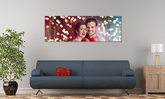 "CanvasOnSale: One 20""x10"", 24""x12"", 36""x12"", or 48""x16"" Custom Panoramic Canvas Print from CanvasOnSale (Up to 80% Off)"