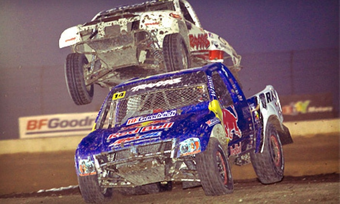 Traxxas TORC Series: Baja Invades Chicagoland  - Joliet: $10 for Traxxas TORC Series: Baja Invades Chicagoland at Route 66 Raceway in Joliet on July 19 or 20 (Up to $20 Value)