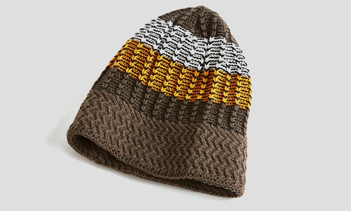 A and G Clothing - In-Store Pickup: $10 for a Men's Multicolored Knit Hat with In-Store Pickup at A&G Clothing ($15 Value)