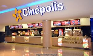 Cinépolis - Matriz: Cinépolis – 41 endereços: ingresso em sala 2D ou 3D, de segunda a quinta ou todos os dias