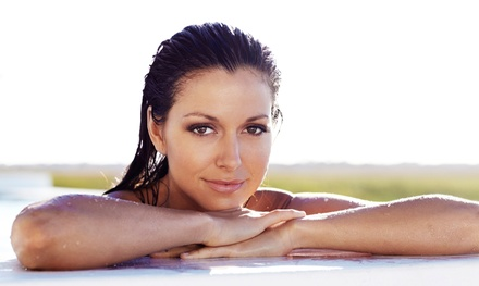 Organic Spray Tans with Optional Allergen-Free Solution at InfraRayZ (Up to 54% Off)