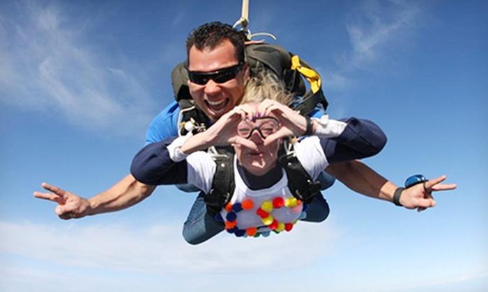 Skydive Hollister - Skydive Hollister: Tandem Skydive from 10,000 Feet for One or Two from Skydive Hollister (Up to 44% Off)